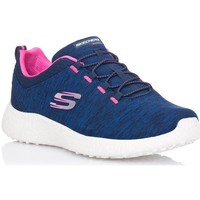 Schuhe Damen Sneaker Low Skechers 12431 Blau
