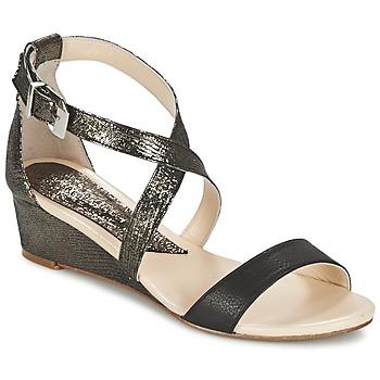 Schuhe Damen Sandalen / Sandaletten Anaki GEKOI Schwarz