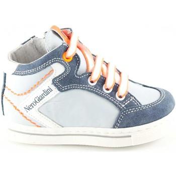Schuhe Mädchen Babyschuhe Nero Giardini NGJ-23811-203 Grigio