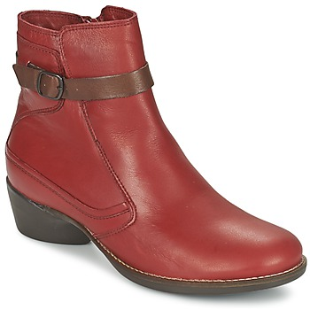 Schuhe Damen Low Boots TBS GENTLY Granatrot