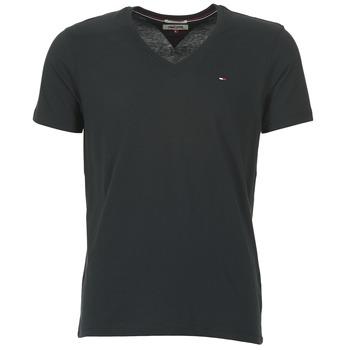 Kleidung Herren T-Shirts Tommy Jeans MALATO Schwarz
