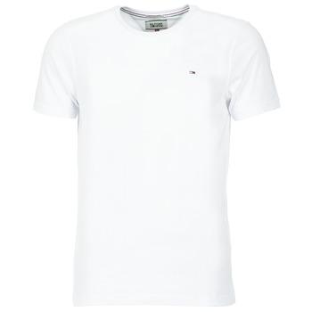 Kleidung Herren T-Shirts Tommy Jeans OFLEKI Weiss