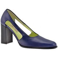 Schuhe Damen Pumps Olga Gigli Offene Ferse 90 plateauschuhe