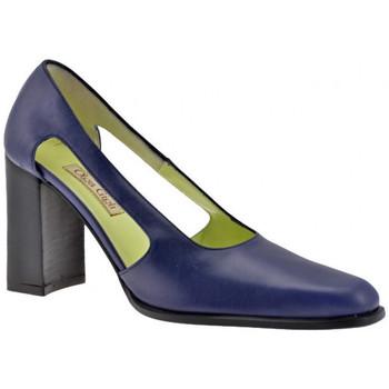 Schuhe Damen Pumps Olga Gigli OffeneFerse90plateauschuhe Blau