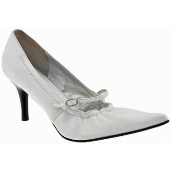 Schuhe Damen Pumps Chedivé Soft-Heel80plateauschuhe Weiss