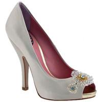 Schuhe Damen Pumps Fornarina Heel120Luxplateauschuhe Beige