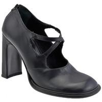 Schuhe Damen Pumps Josephine Straps Zip plateauschuhe