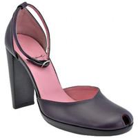 Schuhe Damen Pumps Josephine Heel Toe Strap 100 plateauschuhe