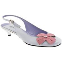 Schuhe Damen Pumps David Blumen-Heel30plateauschuhe Weiss