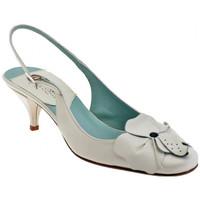 Schuhe Damen Pumps David Blumen-Heel 50 plateauschuhe
