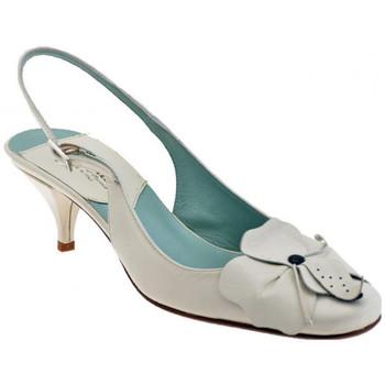 Schuhe Damen Pumps David Blumen-Heel50plateauschuhe Beige