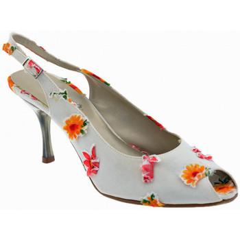 Schuhe Damen Pumps Onde Piane 80 Blumen-Heel überprüft plateauschuhe