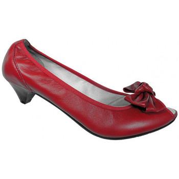 Schuhe Damen Pumps Keys BowT.20plateauschuhe Rot