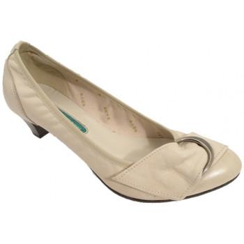 Schuhe Damen Pumps Keys Ballerina-Absatz-Pumpen-30 plateauschuhe