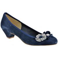 Schuhe Damen Pumps Keys Ballerina-Absatz-Pumpen-30plateauschuhe Blau