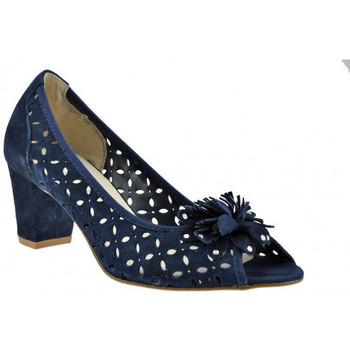 Schuhe Damen Pumps Keys HeelPumpPump60plateauschuhe Blau