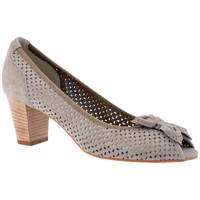 Schuhe Damen Pumps Keys PrüftHeel50plateauschuhe Grau