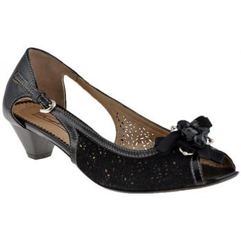 Schuhe Damen Pumps Progetto B141LochHeel40plateauschuhe Schwarz