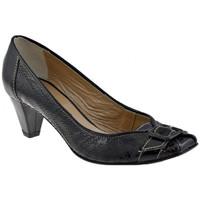 Schuhe Damen Pumps Progetto C175LochHeel60plateauschuhe Schwarz