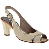Schuhe Damen Pumps Progetto C340Heel70plateauschuhe Beige