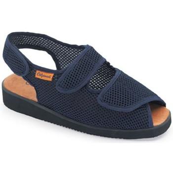 Schuhe Damen Sandalen / Sandaletten Calzamedi inländischen postoperative BLAU
