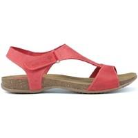 Schuhe Damen Sandalen / Sandaletten Interbios SANDAL ROT