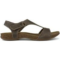 Schuhe Damen Sandalen / Sandaletten Interbios Zwischenanatomische SANDALEN 4420 BRAUN