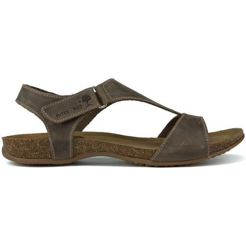 Interbios Zwischenanatomische SANDALEN 4420 BRAUN - Schuhe Sandalen / Sandaletten Damen 44,64