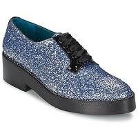 Schuhe Damen Derby-Schuhe Sonia Rykiel 676318 Blau / Silbern