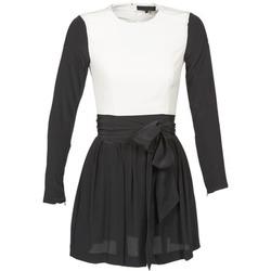 Kleidung Damen Kurze Kleider American Retro STANLEY Schwarz / Weiss