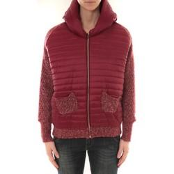 Kleidung Damen Jacken Sweet Company Doudoune 1889 Bi matiére Bordeaux Rot