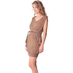 Kleidung Damen Kurze Kleider Rich & Royal Rich&Royal Robe LAST Camel  13q664/238 Braun