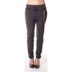 Kleidung Damen Hosen Rich & Royal Rich&Royal Pantalon City sweet ANTHRACITE 13q915/876 Grau