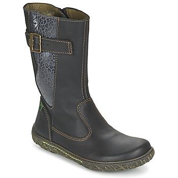 Schuhe Mädchen Klassische Stiefel El Naturalista NIDO Schwarz