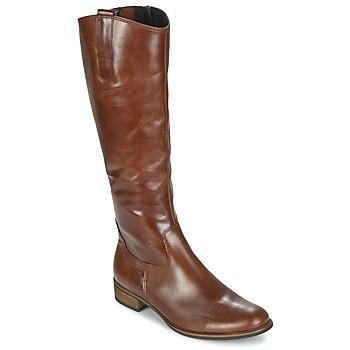 Schuhe Damen Klassische Stiefel Gabor PARLONI Cognac
