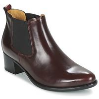 Schuhe Damen Low Boots Gabor AURICH Bordeaux