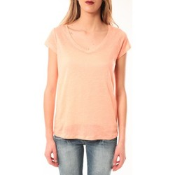 Kleidung Damen T-Shirts Little Marcel T-Shirt Talin E15FTSS0116 Corail Pastel Orange