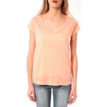 Kleidung Damen T-Shirts Little Marcel T-Shirt Talin E15FTSS0116 Corail Pastel Orange