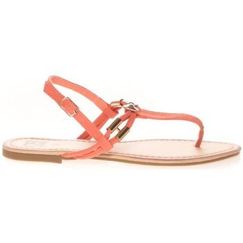 Schuhe Damen Zehensandalen Cassis Côte d'Azur Sandales Monika Corail Orange