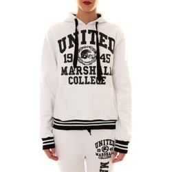 Kleidung Damen Sweatshirts Sweet Company Sweat United Marshall 1945 blanc/noir Schwarz