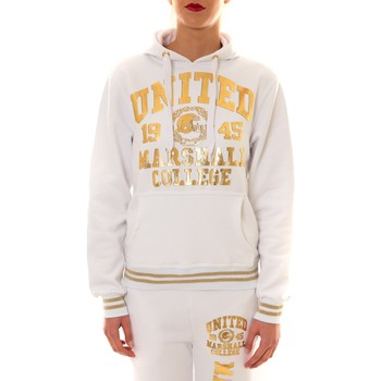 Kleidung Damen Sweatshirts Sweet Company Sweat United Marshall 1945 blanc/or Gold