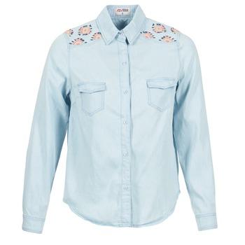 Kleidung Damen Hemden Yurban EGUATOULE Blau