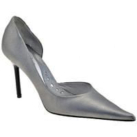 Schuhe Damen Pumps New Line 2102öffnenHeel90plateauschuhe Silbern