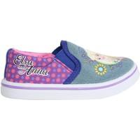 Schuhe Mädchen Slip on Disney S15460H Azul