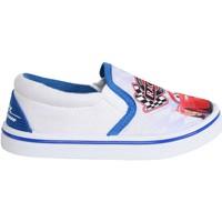 Schuhe Jungen Slip on Cars - Rayo Mcqueen S15511H Blanco