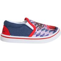 Schuhe Jungen Slip on Cars - Rayo Mcqueen S15511H Azul