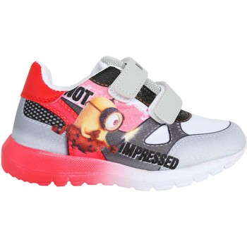 Schuhe Kinder Sneaker Low Minions S15942H Gris