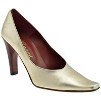 Schuhe Damen Pumps Bocci 1926 Glamour T. 90 plateauschuhe Gold
