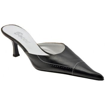 Schuhe Damen Pantoletten / Clogs Bocci 1926 Gebohrt50T.sabot Schwarz