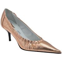 Schuhe Damen Pumps Bocci 1926 Elastische T. Edge-50 plateauschuhe Orange